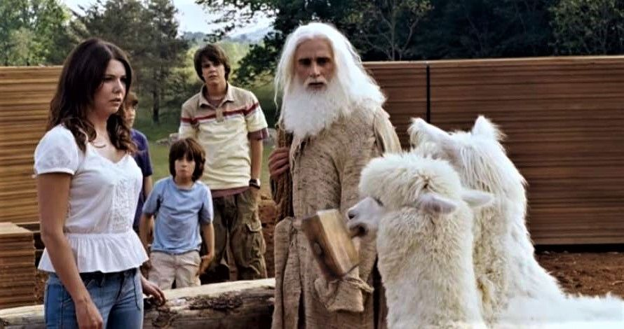 32 Evan Almighty Available August 16 A Retelling Of Noahs Ark