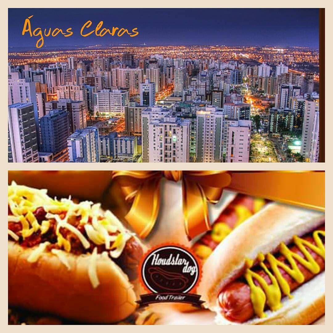 Hoje 26/03/2016 - Sábadoa partir das 18:00 até as 23:30 horas  estaremos em Águas Claras em frente ao Vitrinne Shopping  Acesse nossa agenda atraves do site: www.houdstardog.com  Aguardo todos vocês para se deliciarem com o único e melhor hotdog self-service no quilo.  #houdstardog #aguasclaras #hotdog #omelhornoquilo #foodtrailer by roytomaz
