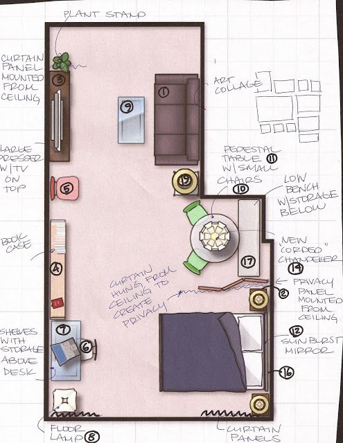 design dump studio apartment Apartment set up Pinterest