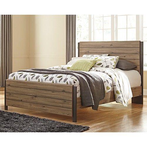 Dexifield Queen Bed Frame - Beige Brown - Ashley Furniture   Milan ...
