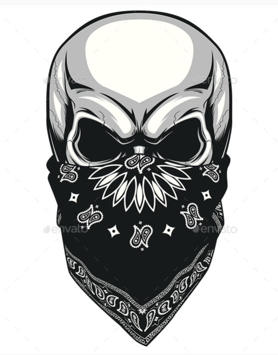 skull with bandana tattoo drawing 40 best tattoo designs 2016 bandana tattoo designs. Black Bedroom Furniture Sets. Home Design Ideas