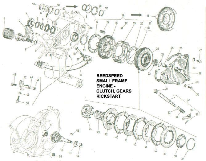 vespa engine diagram - wiring diagrams image free