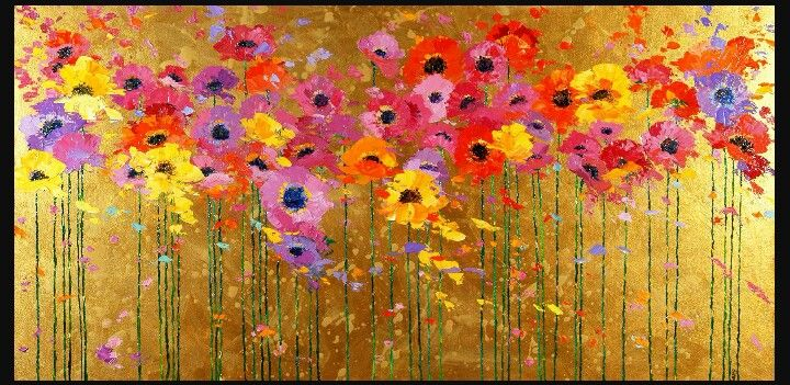 Pin by elaine liberatore on spring into spring pinterest i love poppies and i love them on this metallic gold background spring poppies i susan hazard 2005 mightylinksfo Gallery