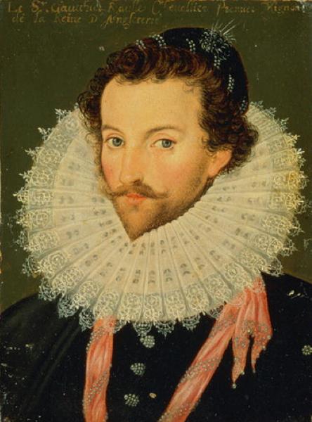 Portrait of Sir Walter Raleigh