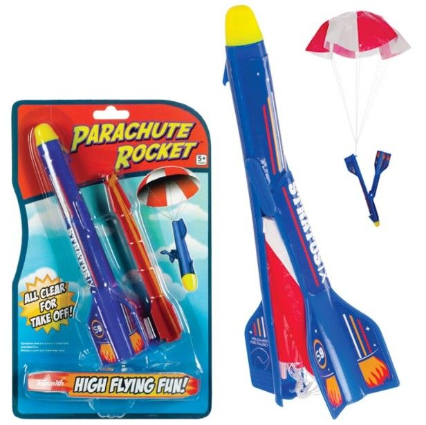 Kids Pool Party Free New Outdoor Toy Deluxe Water Rocket Set Toysmith 4066