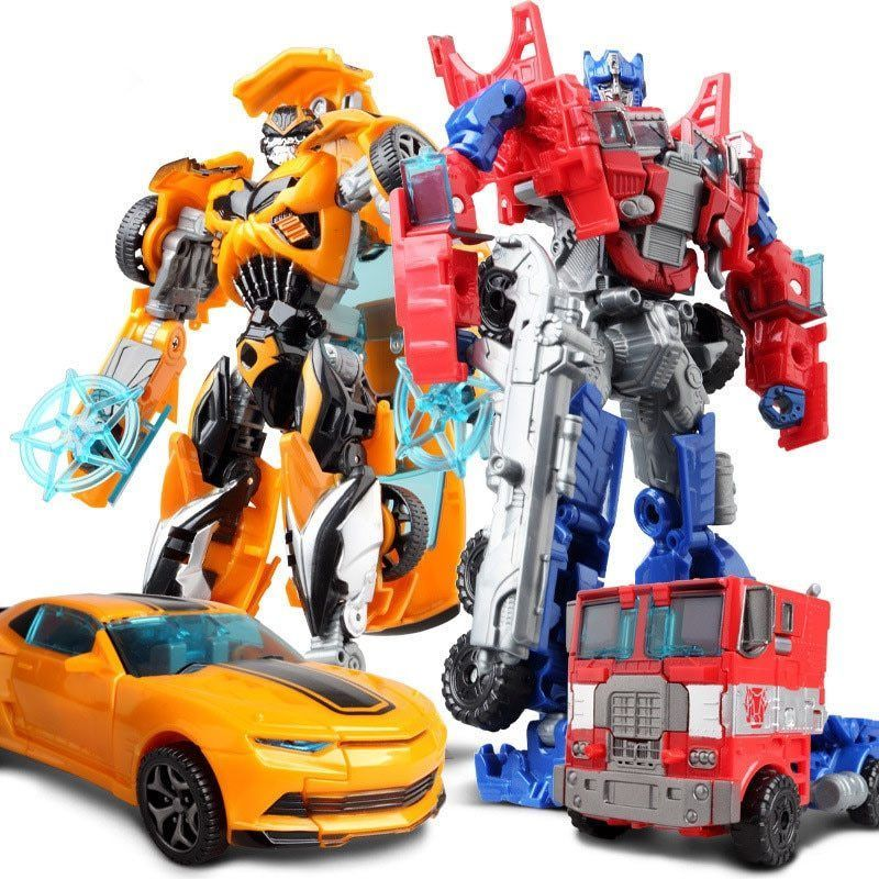 Figure 8 Cars For Sale: 2 In 1 Transformars Robot Car Action Toy Figure BEST Gift