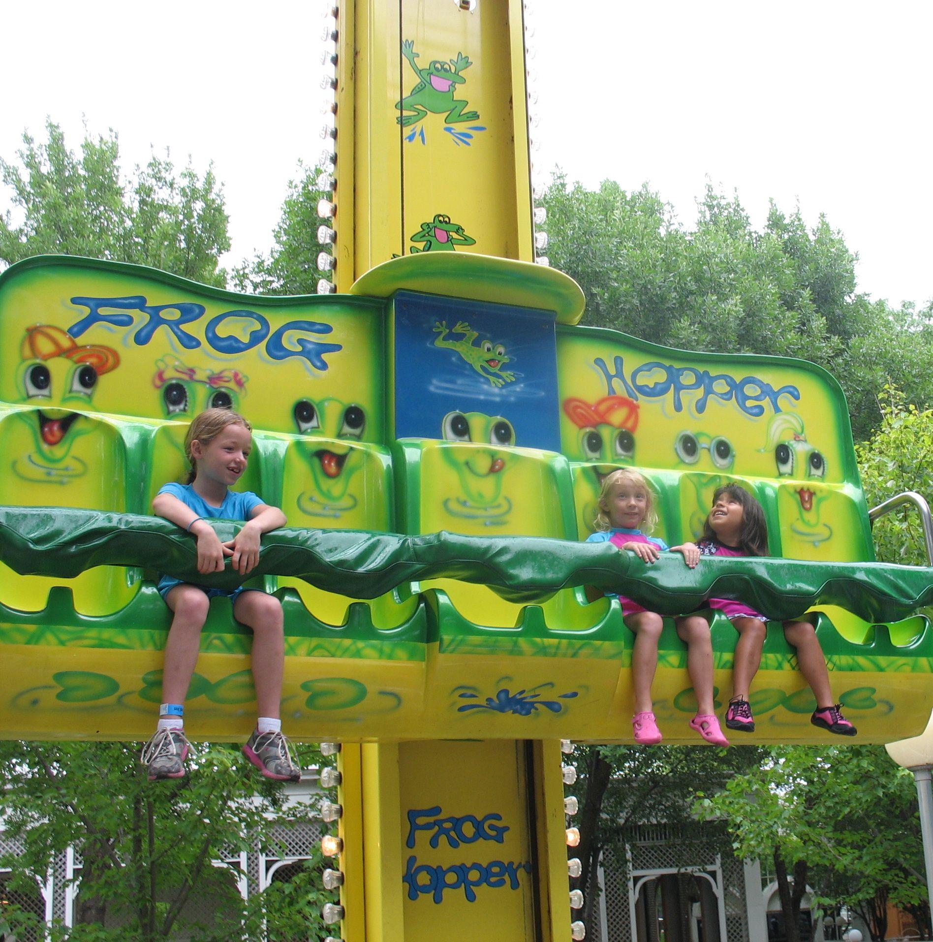 Mildest Ride These Two Girls Went On In Adventureland Park Altoona Ia Altoona Amusement Park Amusement