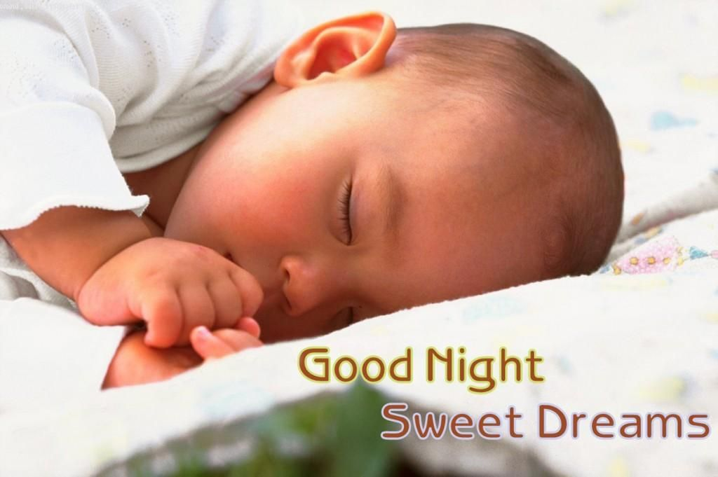 Download Good Night Sleeping Baby Good Night Wallpaper For Your