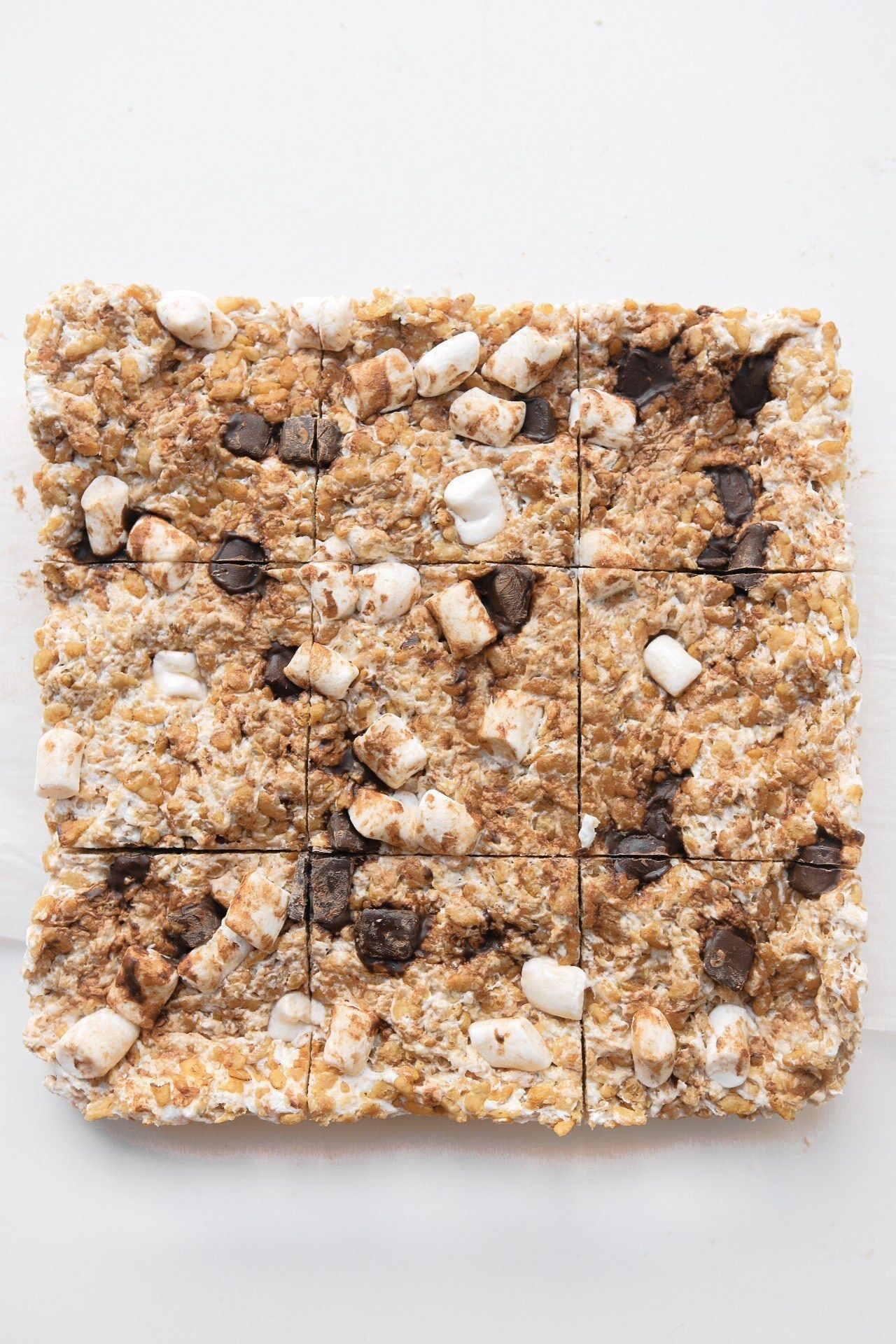 S'mores Rice Krispie Treats (vegan, glutenfree) Meg