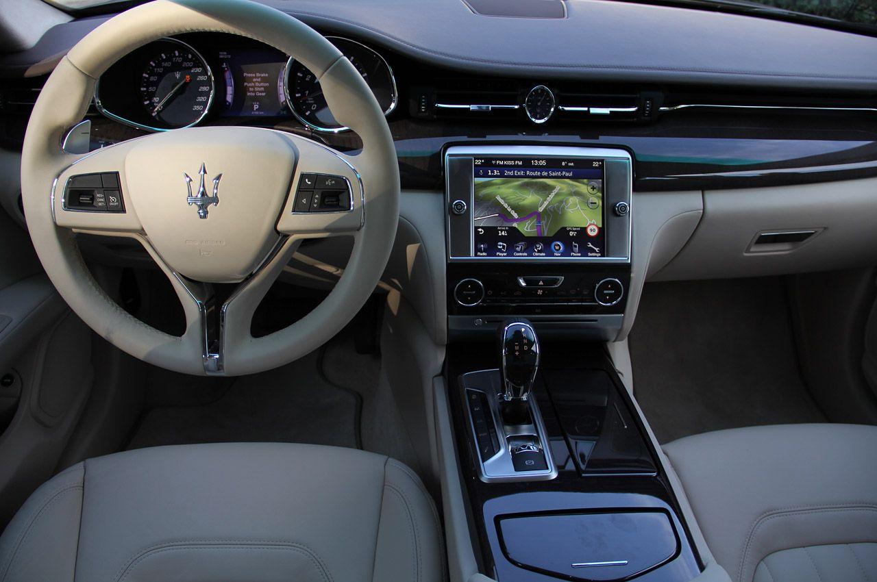 2014 Maserati Quattroporte Interior My Trident Maserati