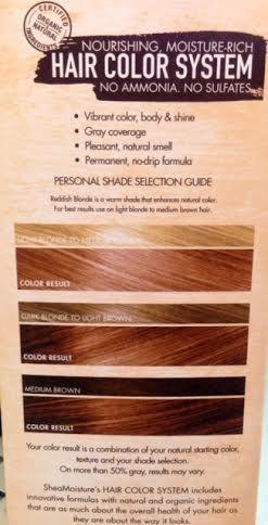 Sheamoisture Reddish Blonde Hair Color