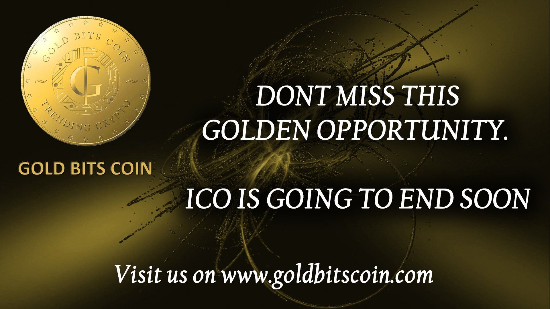 GoldBitsCoin (GBC) ICO is ending very soon! Purchase