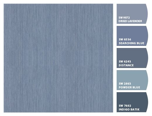 Colorsnap By Sherwin Williams Paint Pairings For Formica Laminate 8814 Denim Twill