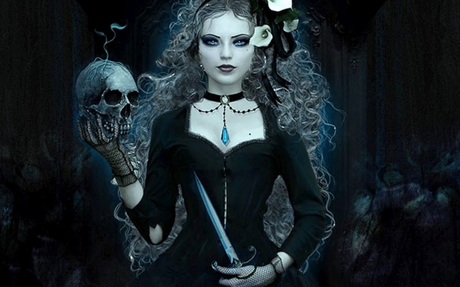 girl wallpaper gothic models | email this blogthis! share to