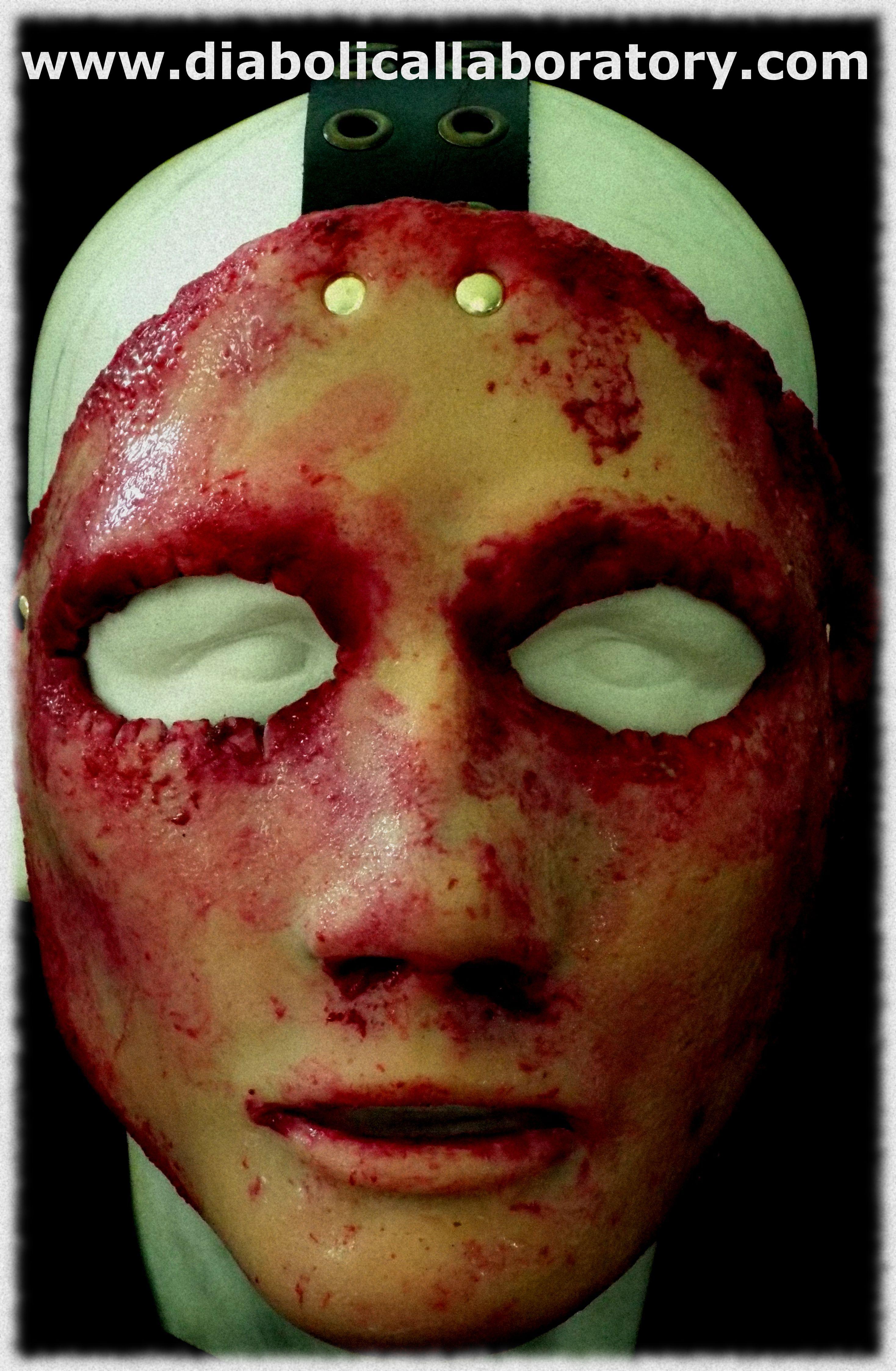 Silicone serial killer skin half mask | Stuff to Buy | Pinterest ...