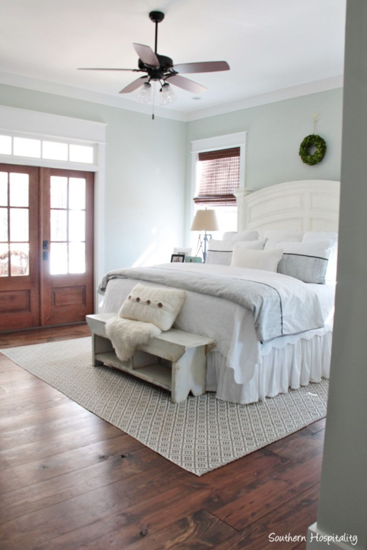 53 Beautiful Urban Farmhouse Master Bedroom Remodel | Farmhouse ...
