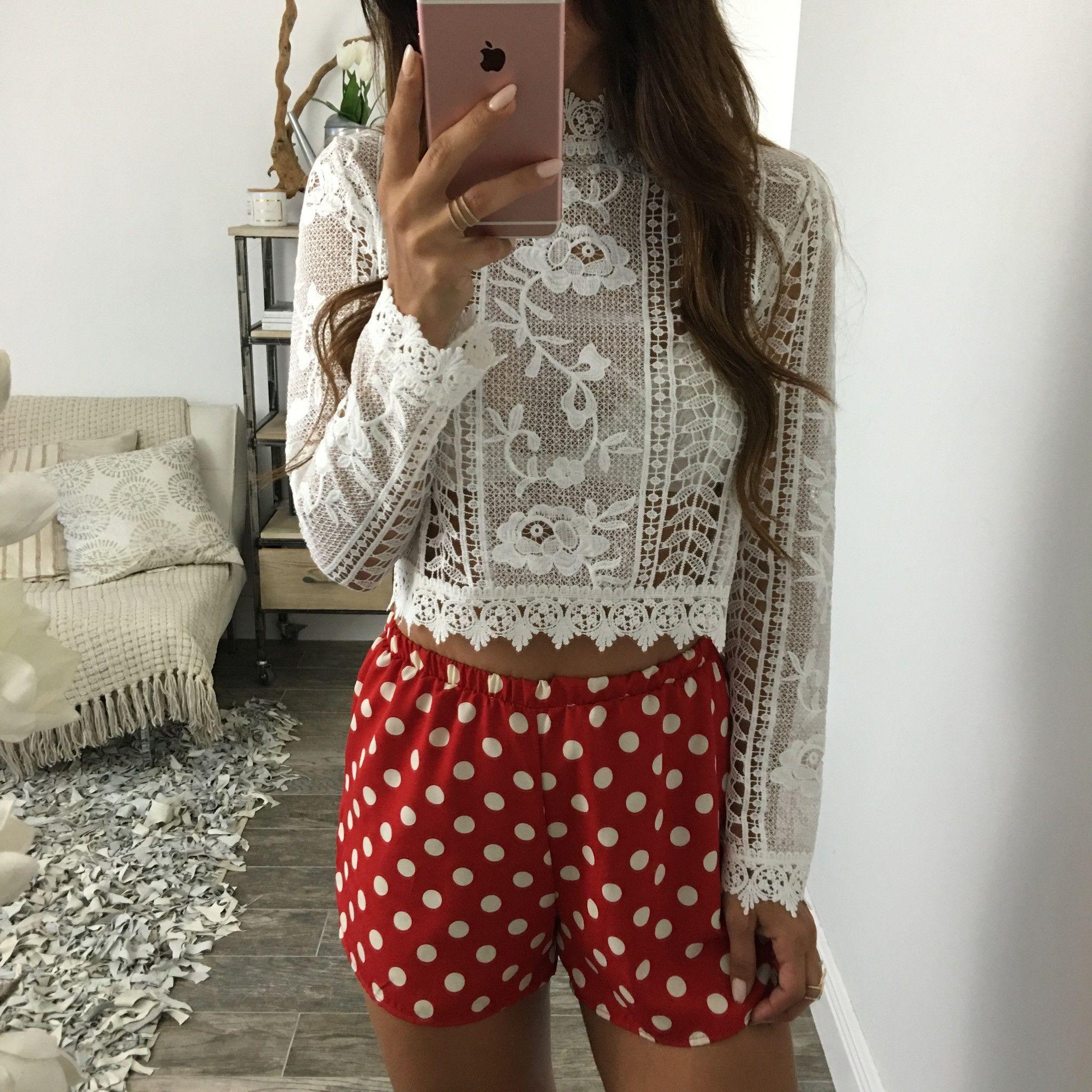 Polka Dot Lane Shorts