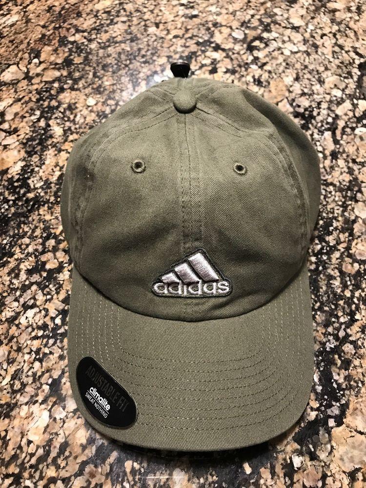 online store 35d8a 20f8b Adidas Dad Hat Olive Green OSFM Strap Back New  adidas  BaseballCap