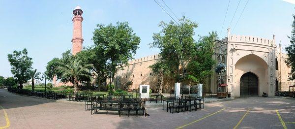 #Beautiful #Historical #Mughal #Architecture #Lahore #Pakistan