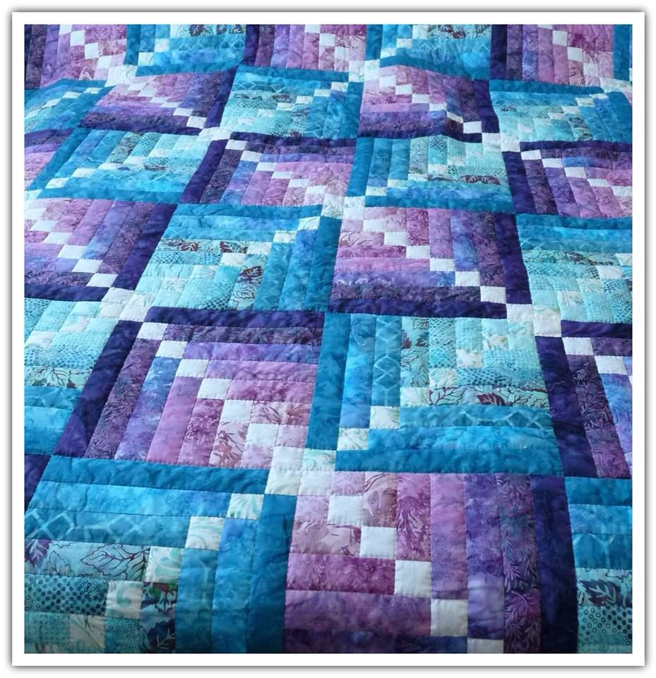 Purple And Blue Quilt Bing Images