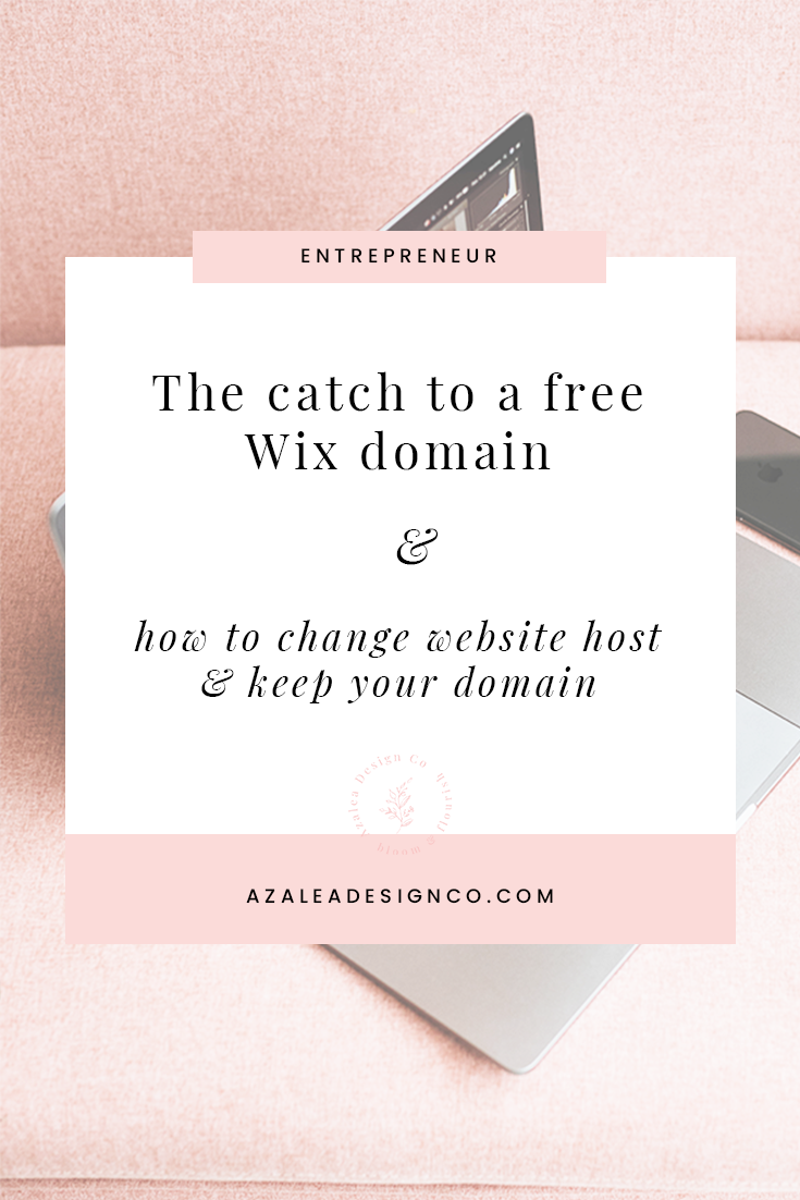 The catch to a free Wix domain and how to change host