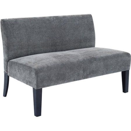 Solid Deco Loveseat - Walmart.com | Our New Home | Pinterest | Salon ...