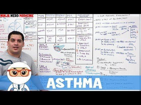 Asthma Lecture Series | FREE on Ninja Nerd Medicine ...