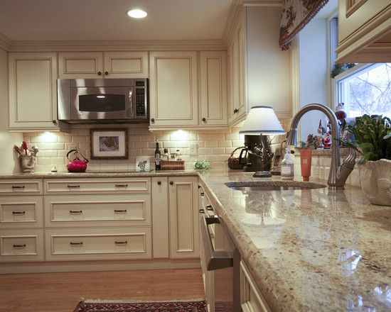 Colonial Cream Granite Design Pictures Remodel Decor And Ideas