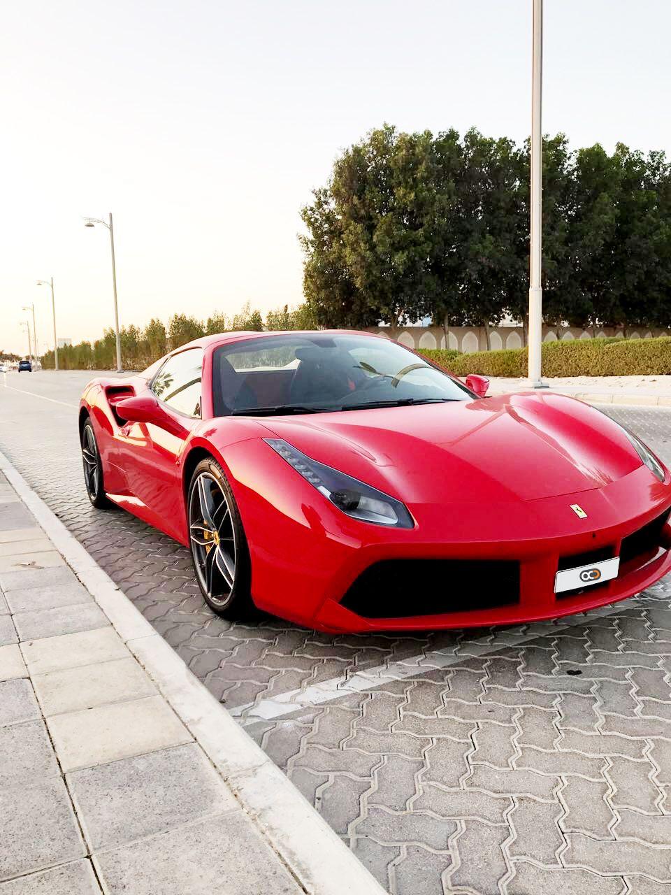 Drive the iconic 2018 Ferrari 488 Spider in Dubai 😎🇦🇪 for