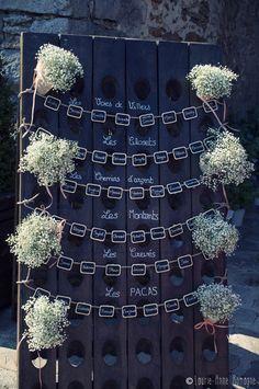 Mon mariage champêtre romantique : le vin dhonneur 2ème partie