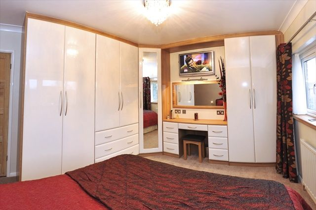 Lyon Walnut And Cream Gloss Fitted Wardrobes Fitted Wardrobes Bedroom Furniture Furniture