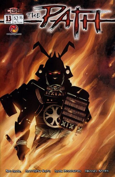 Cover for The Path (CrossGen, 2002 series) #13