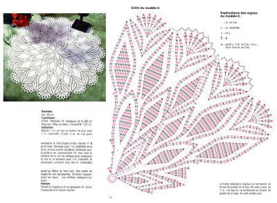 Square Doily #16 with diagram