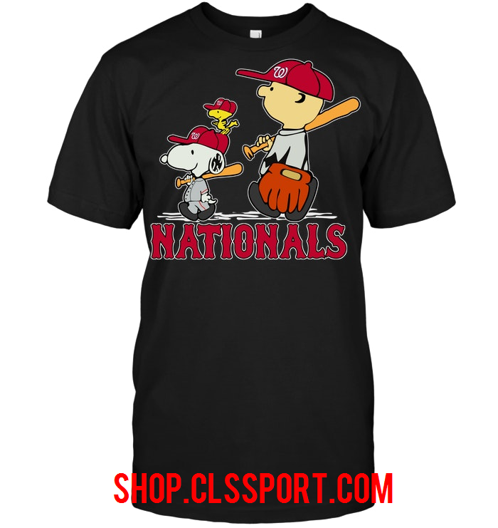 Nationals Snoopy Team Fan shirts, Team sports apparel