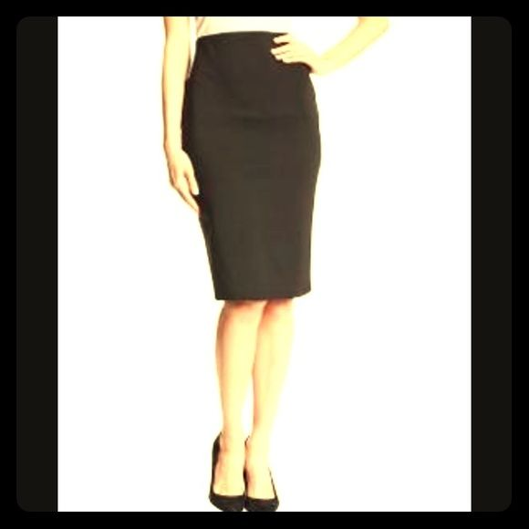 Black Pencil Skirt Pencil Skirt with Elastic Waist-Approx 1 inch slit in back center-65%Rayon, 29%Nylon and 6% Spandex-Pair with any top or accessories! Bundle with just ONE OTHER ITEM OF ANY PRICE and save 20% on your entire order✨  *Ship within 24 hours (exc. Sundays and holidays) *Top Rated Seller *Smoke Free/Pet Free Home Jockey Person to Person  Skirts Pencil