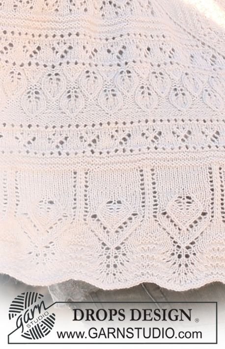 Drops Pattern Library Lace Patterns Pinterest Drops