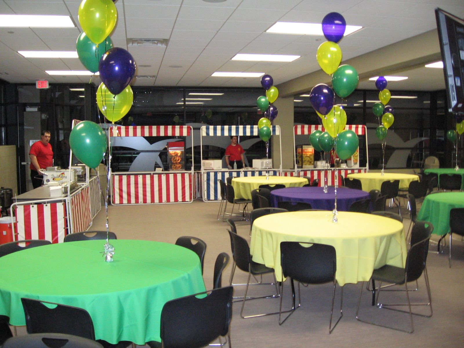 Balloon clusters chicago party rentals event decor