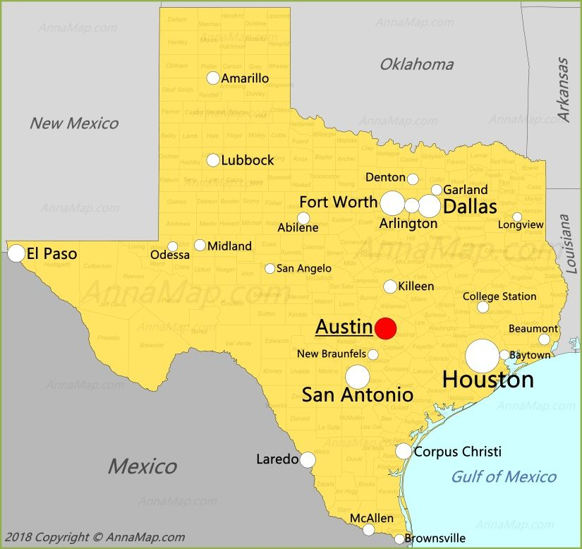Map Of Texas United States.Texas Map In 2019 United States Map Republic Of Texas Map