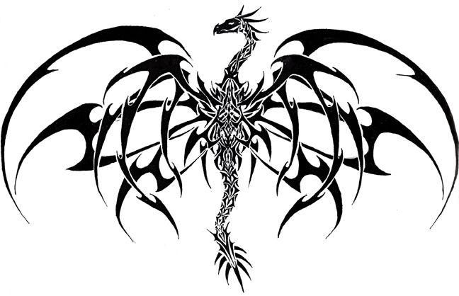 Tattoo Vorlagen 60 Kostenlose Tiermotive Tattoovorlagen Mit Bildern Drachen Tribal Tattoos Kleine Drachen Tattoos Stammestattoo Designs