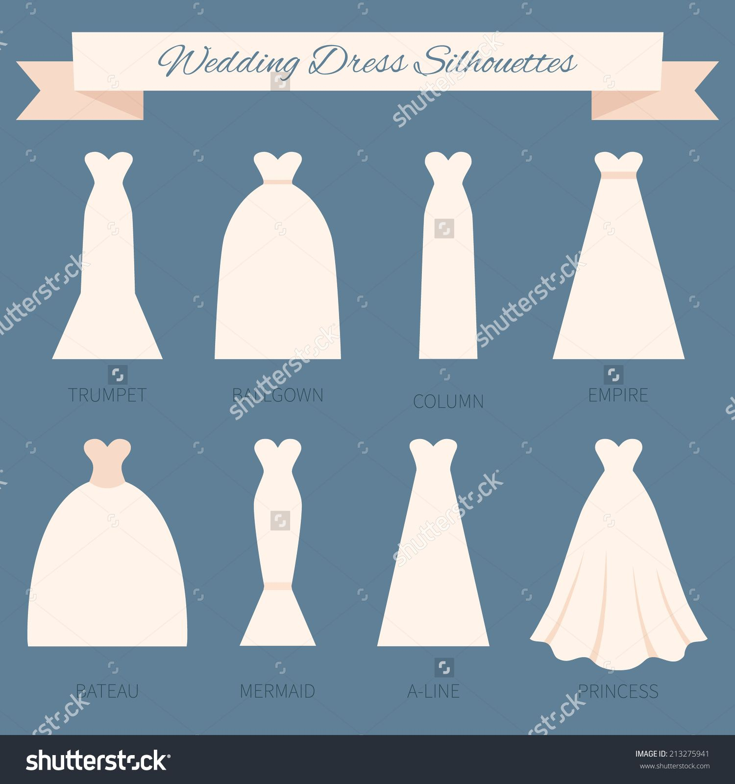 How to select a wedding dress style good style dresses pinterest