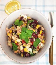 Thunfischsalat rezept gesund