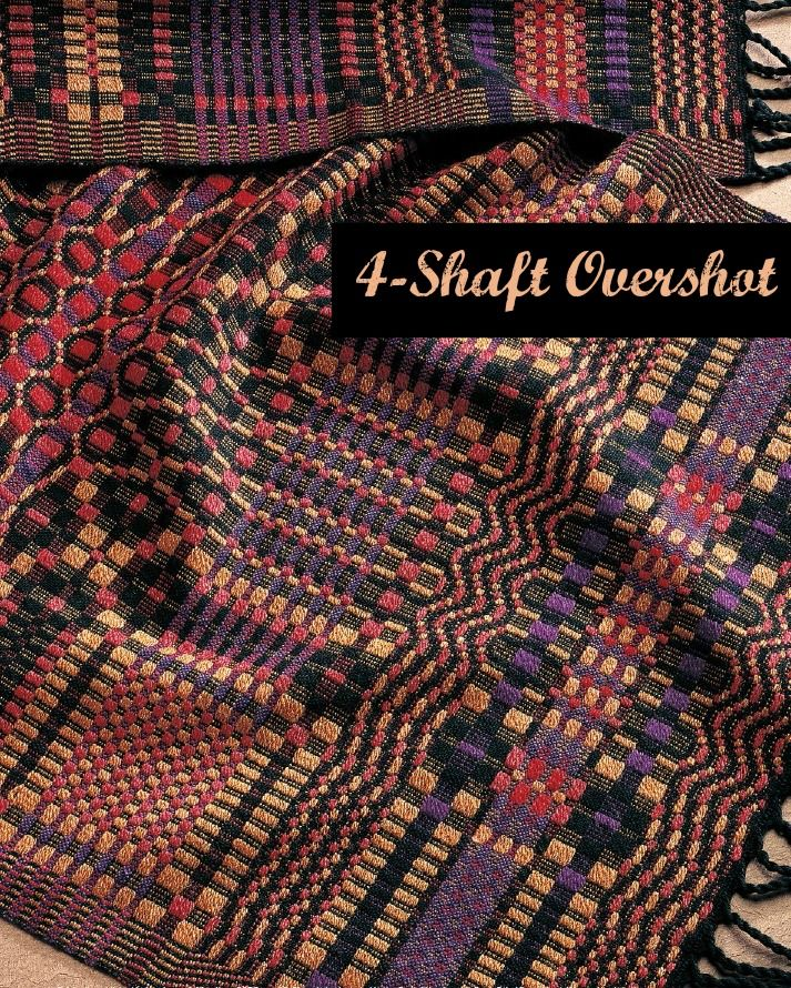 Get this eBook, full of 14 4-shaft overshot projects. Stretch yourself as a…