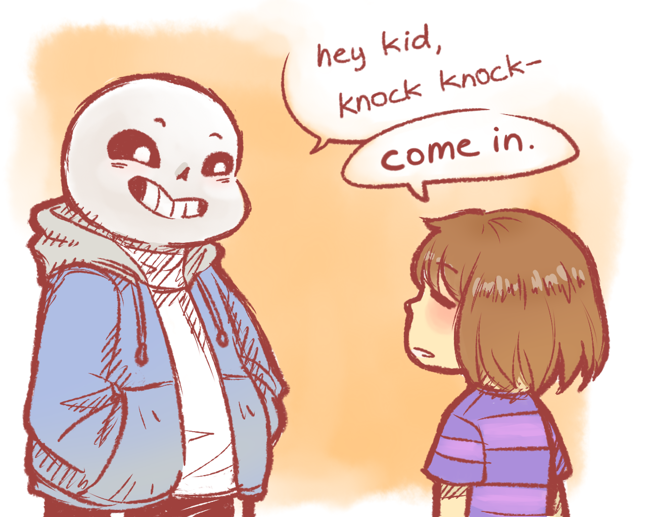 Undertale | the only way to beat sans in a pacifist run: kill one of his jokes  1/5