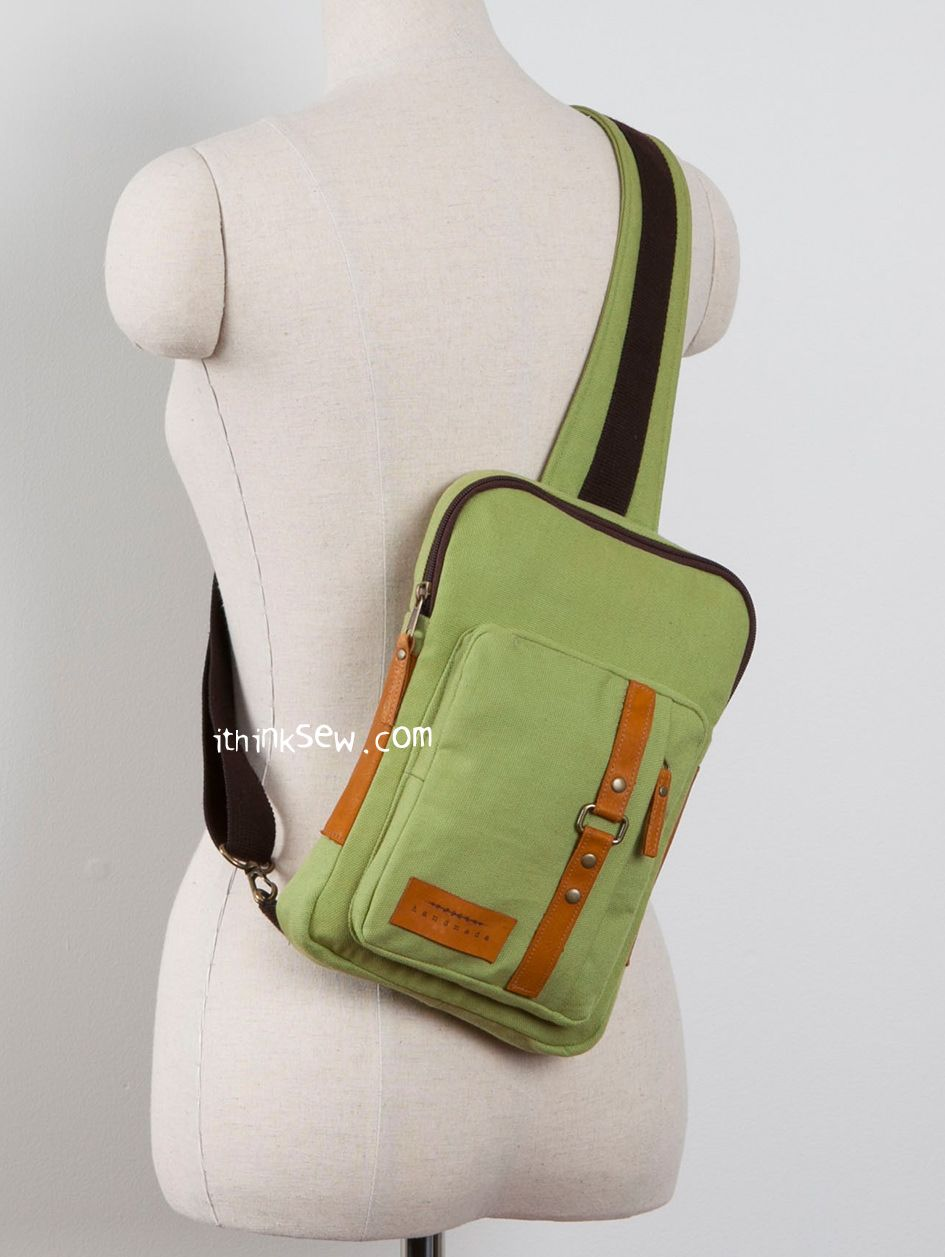 1255 Kenzie Cross Body Sling Bag PDF Pattern - I think so | bags and ...