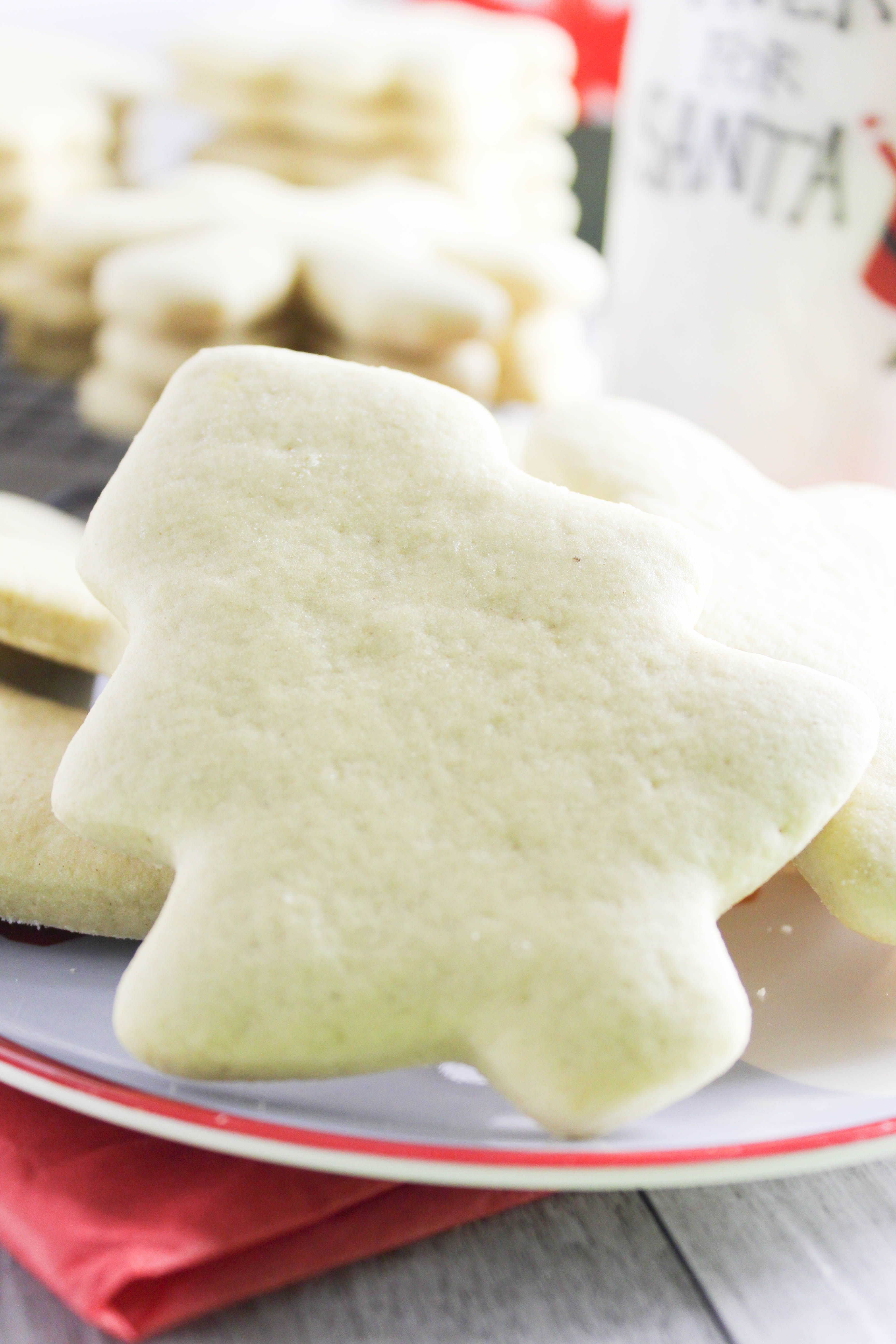 Best Soft Christmas Cutout Sugar Cookies