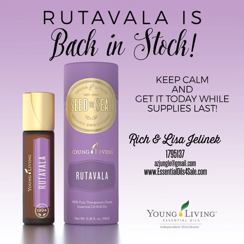 Rutavala Is Back In Stock Www Essentialoils4sale Com