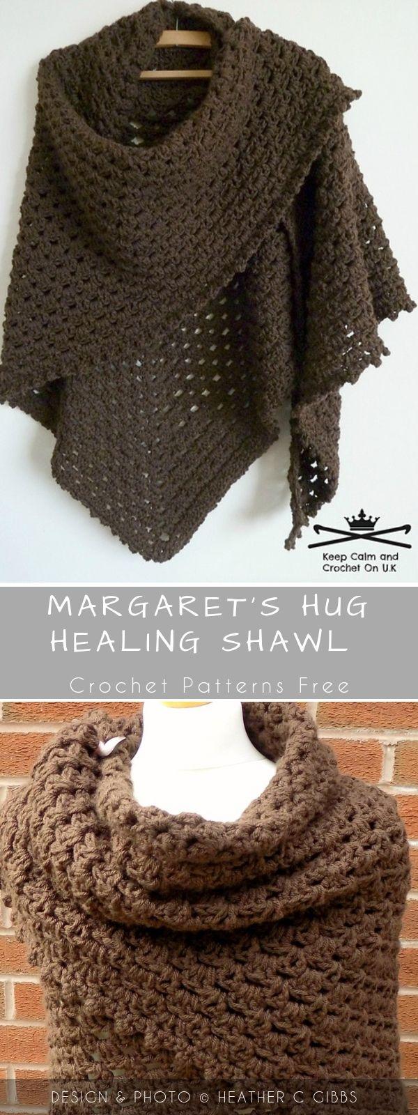 Margaret's Hug Healing Crochet Shawl Wit - Crochet Shawl