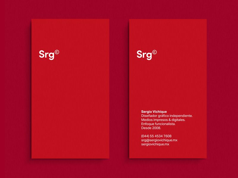 Srg Cards | Business cards, Business and Minimal business card