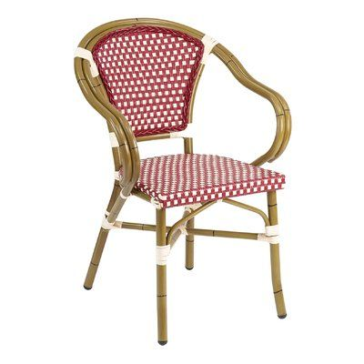 Remarkable Florida Seating Stacking Patio Dining Chair Color Bordeaux Inzonedesignstudio Interior Chair Design Inzonedesignstudiocom