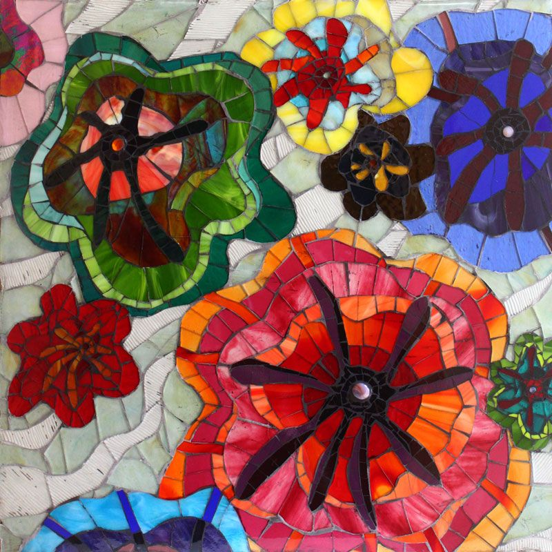 Mosaic artists gallery of mosaic art for sale showcase for Mosaic painting meaning